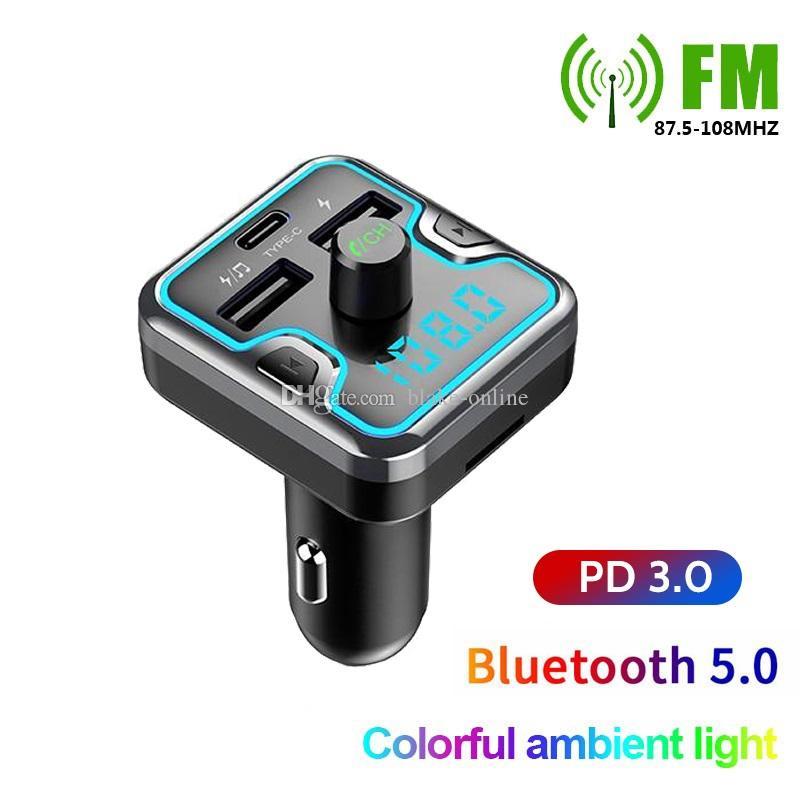10PC Wireless Handsfree USB Charger MP3 Player Bluetooth Car FM Transmitter Lot