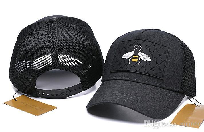 تصميم أعلى قبعة بيسبول قابل للتعديل Snapback الصيف بارد قبعات البيسبول العلامة التجارية الجديدة ثعبان النحل التطريز قبعة بيسبول ستيلرز كاب أوفو أبي قبعة