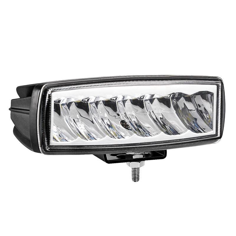 NEW-haute bande LED simple rangée Qualité travail Lumière hors route modifiée voiture haute puissance Spotlight