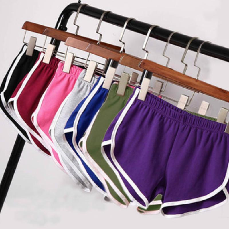 Womens Shorts Yoga attivi casual fitness Sweatpant Estate dimagrante Pantaloni Leggings a vita bassa alla moda dei pantaloni di bicchierini per le donne 2020 all'ingrosso