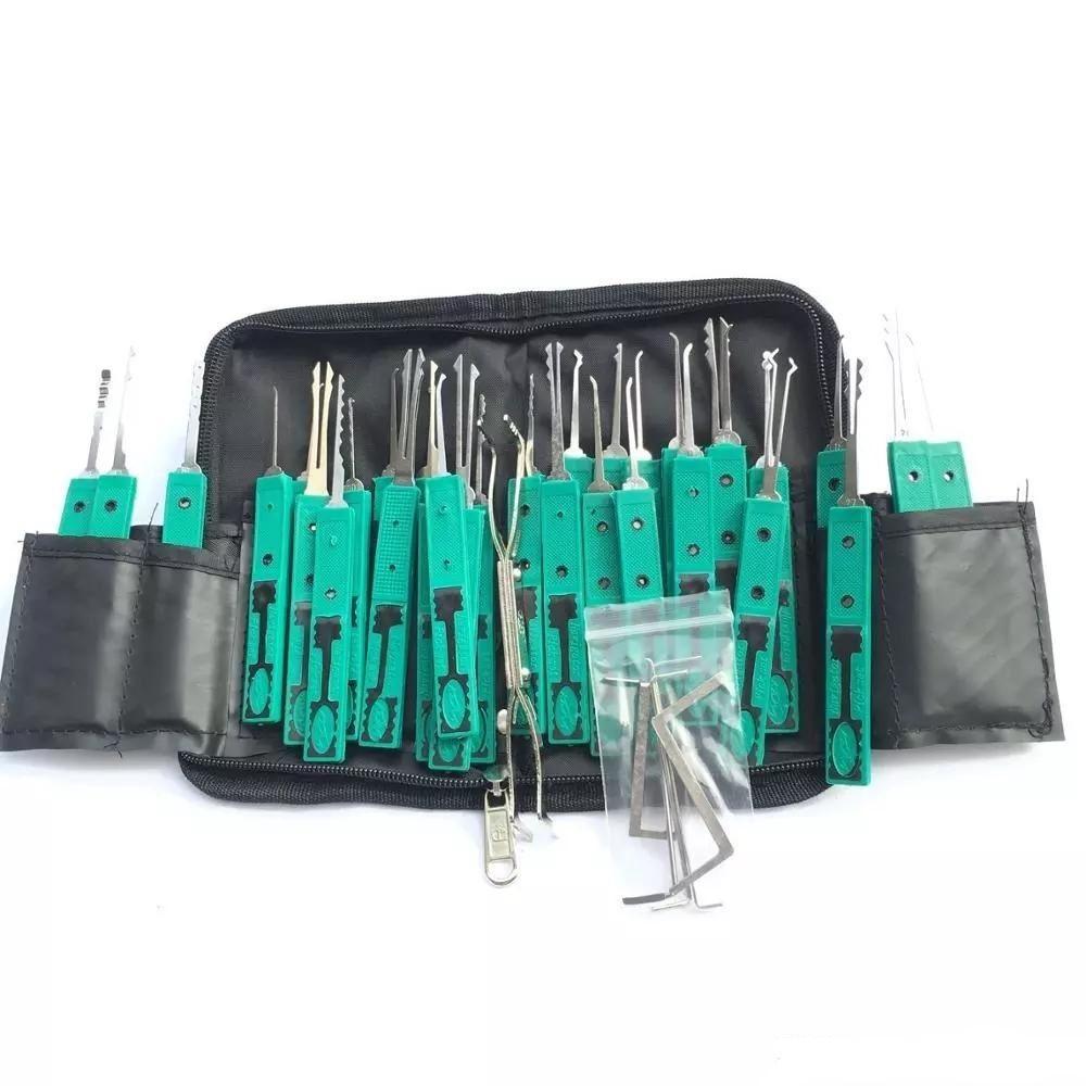 Originale KLOM 32 PCS Block Pick Tool Strumento di raccolta Superior Set Strumenti del fabbro