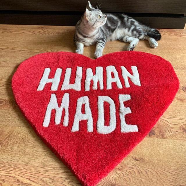 Creative Carpet Hum Count Made Love Mat Ins Ins Ins Insits Гостиная Спальня Сердце Форма Салон Толс Прилив Украшения Идея Handmade Ковер