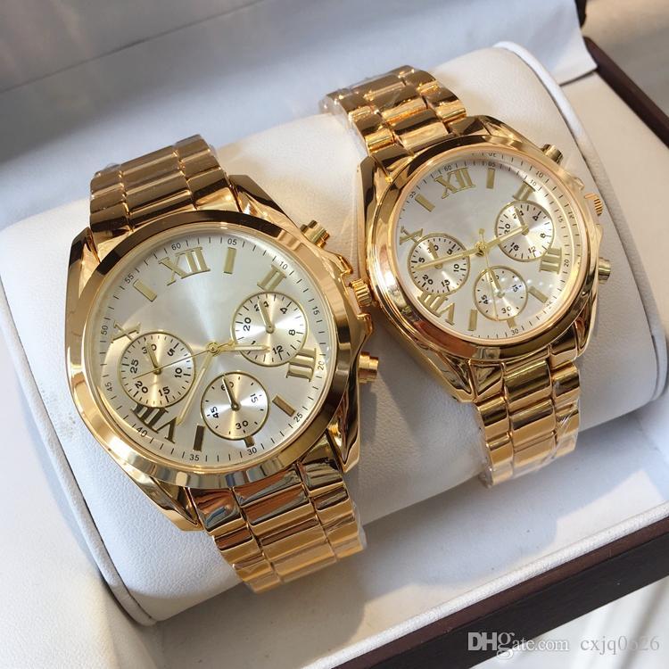 2018 특별 브랜드의 새로운 최고 품질 여성 시계 패션 캐주얼 시계 큰 다이얼 남자 손목 시계 명품 연인 숙녀 고전적인 시계를보고 시계