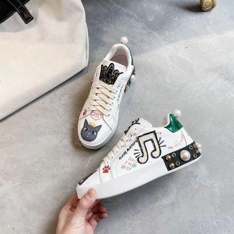 high quality Fashion Rock Runner Camouflage Leather Sneakers Shoes Men,Women Rock Studs Outdoor Casual CAMUSTARS Trainers yh02