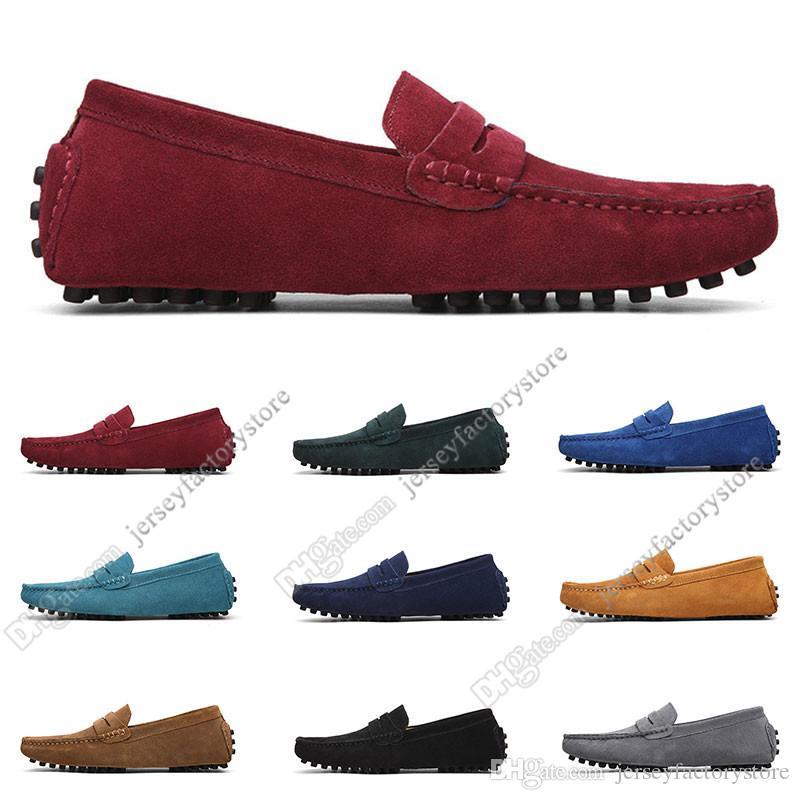 2020 grande taille 38-49 NOUVEAU Cuir pour homme Chaussures pour hommes Couvre-chaussures Britannique Casual Shoes Livraison Gratuite Soixante-deux