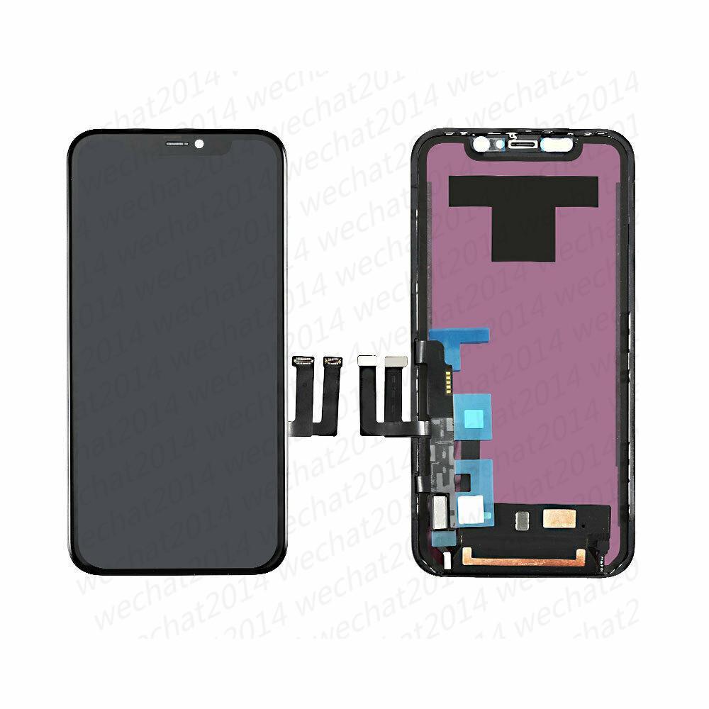 استبدال قطع غيار 10PCS OEM LCD شاشة عرض تعمل باللمس الجمعية محول الأرقام لمدة 11 فون دي إتش إل الحرة