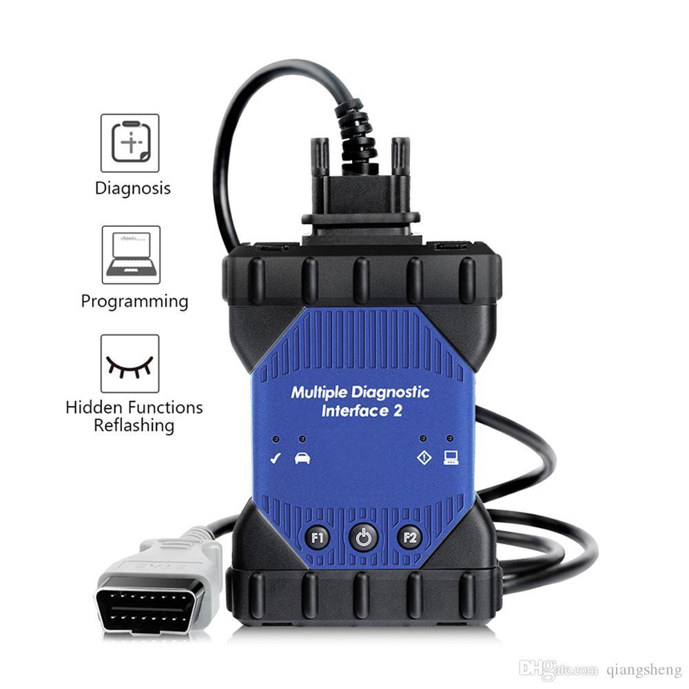 MDI Scanner Wifi Yok Yazılım Güncelleme ile GM MDI 2 Multiplexer Tanı Arayüzü için