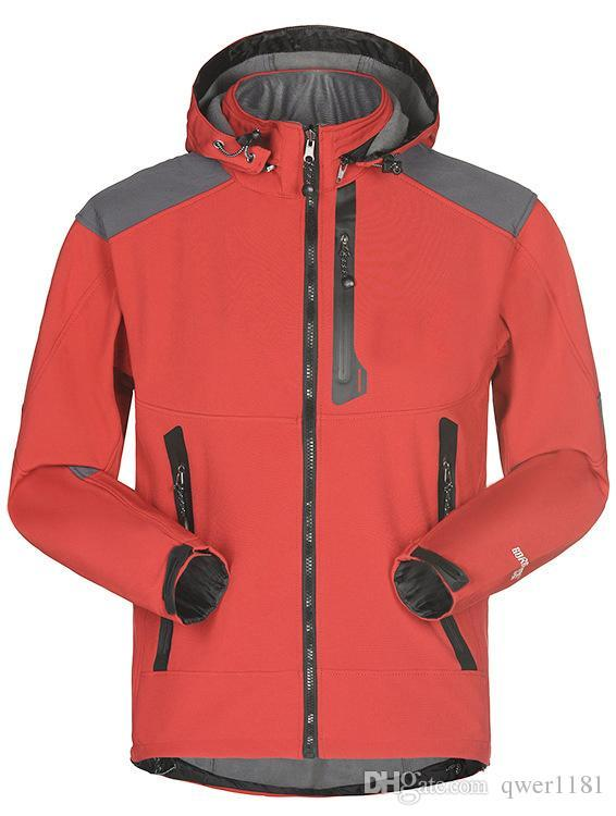 MERCEDES Quality Softshell Jacket Coat Black Embroidered Sizes S-5XL