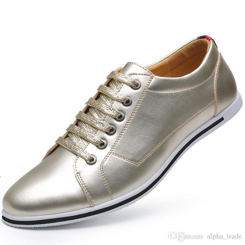 2020 Chaussures hommes de printemps de luxe pour hommes chaussures de sport mode moccasines homme chaussures chaussure superstar zapatillas hommes grande taille 38-48