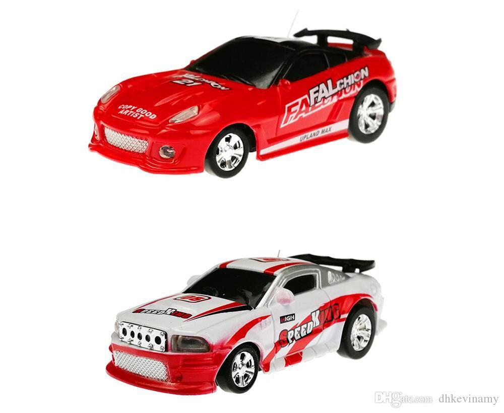 Mini Coke Can RC Radio Remote Control Micro Racing Car Hobby Vehicle Toy Christmas Gift
