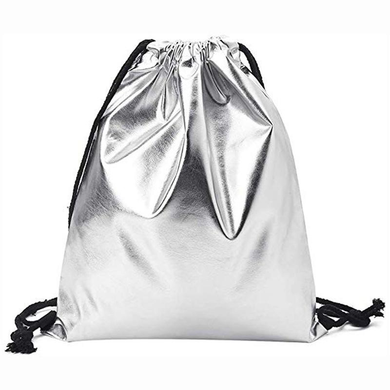 PU impermeable de los deportes bolsas para la aptitud de las mujeres de los hombres sólido de la manera morral del lazo de sac de deporte bolsas de deporte Torba Sportowa A40