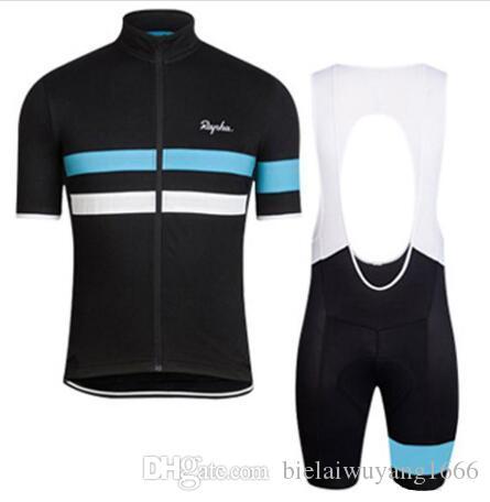 2020 رافا الدراجة الجبلية جديد الصيف ركوب الدراجات ذات أكمام قصيرة عدة جيرسي تنفس الرجال والنساء ركوب القمصان مريلة سريع الجافة / السراويل مجموعة K2502