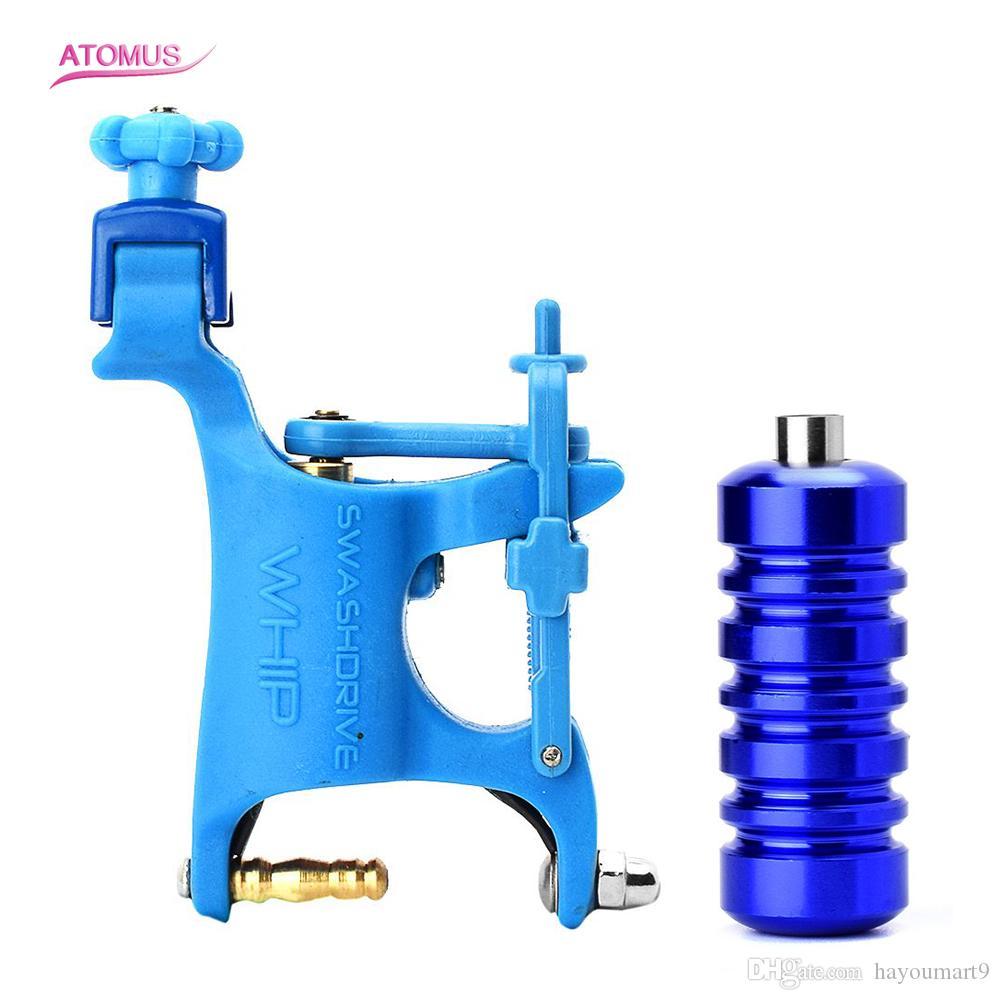 Máquina de tatuagem profissional giratória máquina de motor kit de tatuagem equipamento de aperto kit máquina de aperto kit equipamento de tatuagem