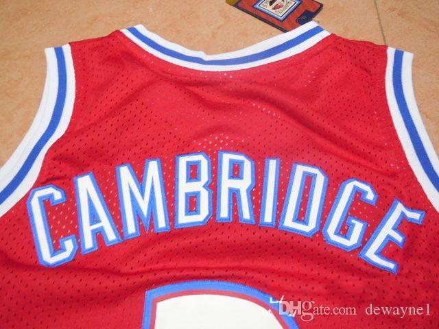 a4ddaa1594e ... 2019 Men s Basketball Jersey Like Mike Movie Knights  3 Calvin Knights  Red Basketball Jersey Stitched