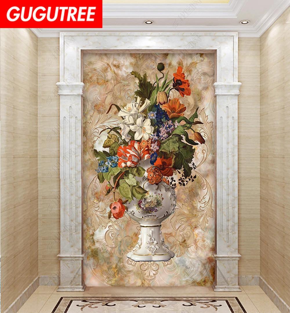 Décorer la maison 3D murale dessin animé art sticker mural décoration Stickers peinture murale Amovible Décor Papier Peint G-2431