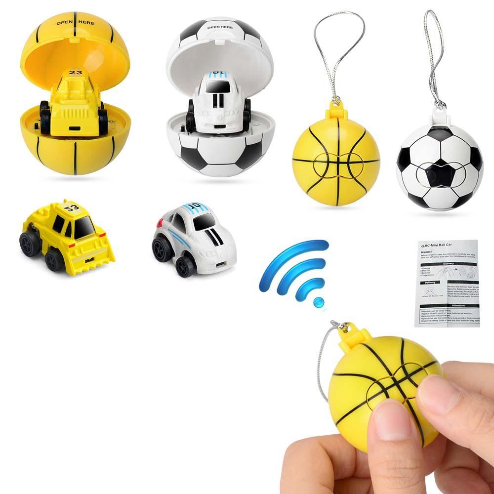 2.4 GHz Crianças Bonito Mini Futebol Cerca de 20-30 Minutos de Controle Remoto de Basquete Carro de Controle Remoto Manual de Brinquedos