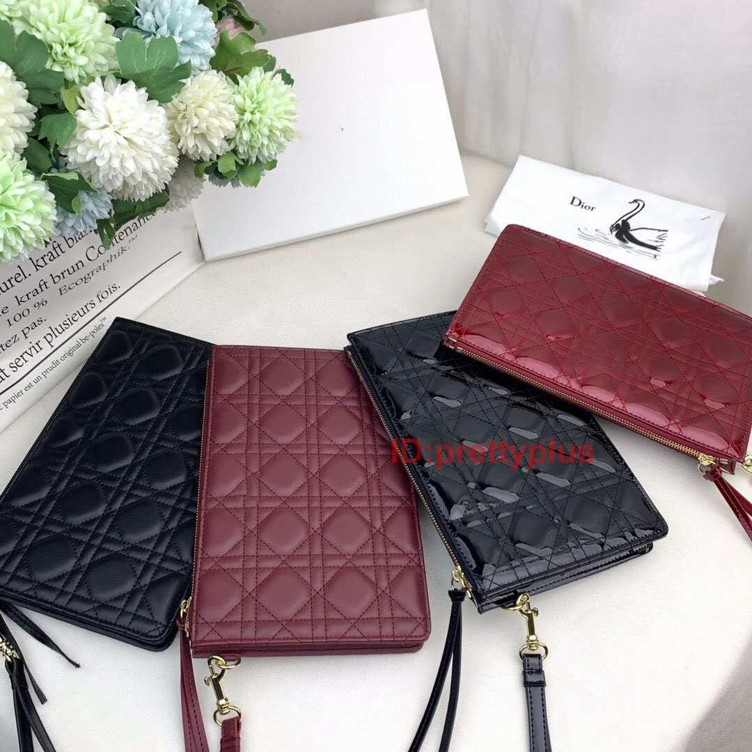Fashion Paris Style Luxury Famous Designer Top Quality Men Women Classic Fashion Clutch Purse Handbag Designer Bag