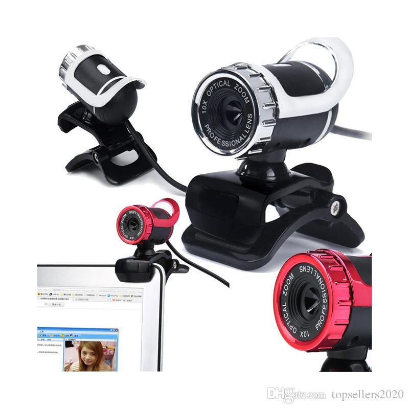 Веб-камера USB 2.0 480P Camera Web Cam 360 градусов MIC Clip-on для ПК ноутбук Clip-on встроенный микрофон 640*480 1.45 метров Usb