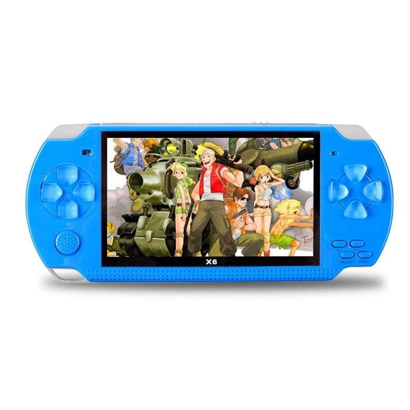 4.3 بوصة شاشة كبيرة المحمولة PMP لعبة لاعب حقيقي 4GB 8GB بناء في ألعاب الفيديو المحمولة لعبة وحدة التحكم للأطفال الرجعية لعبة لاعب