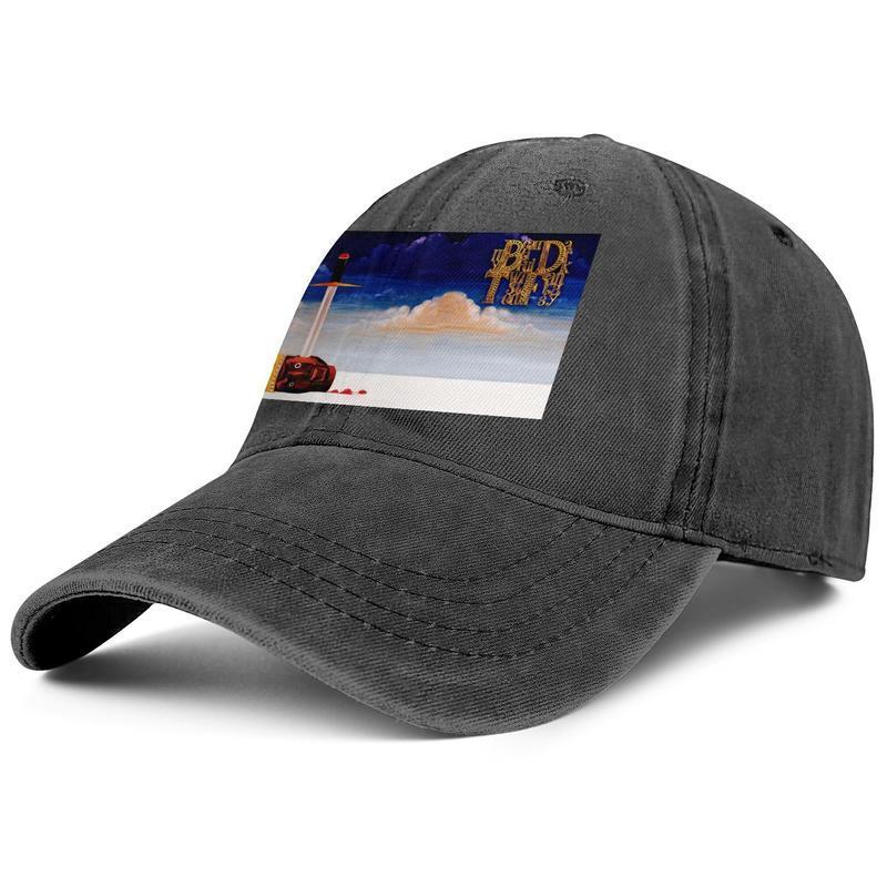 Kanye West laurea 2 mens e donne Trucker Cap denim disegno montato golf personalisedblank moda di baseball bestcustom cappelli Nuovo logo