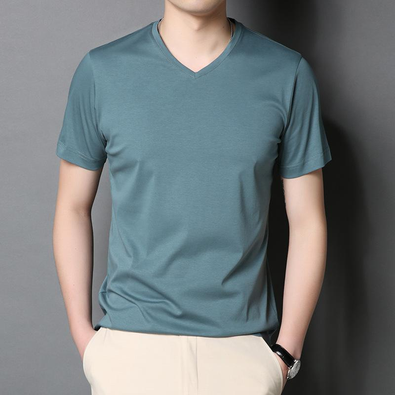 الرجال ملابس الرجل مصمم القمصان الأزياء التي شيرت أومو الفاخرة العلامة التجارية مصمم الرجال النساء المحملة الرجال القميص تيز الحرير