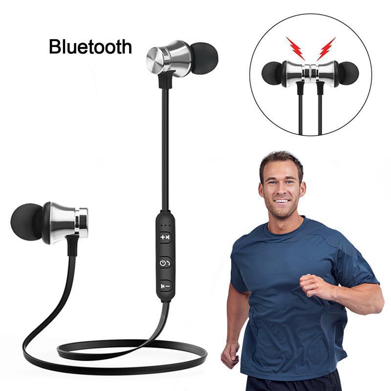 Bluetooth écouteurs magnétique Casque XT-11 sans fil sport casque basse musique Écouteurs avec micro casque pour Samsung