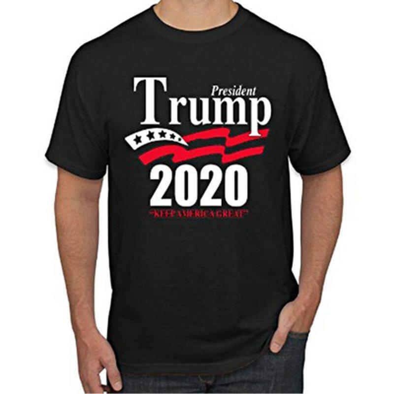 dressing2020 Couple T-shirt New American Trump élection Trump2020 modèles d'explosion couple T-shirt à manches courtes pour les hommes et les femmes