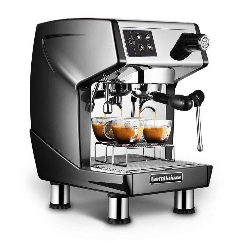 CRM3200D Espresso Coffee Machine 120 cups / h Comercial Cafeteira Semi Auto Duplo Máquina de caldeira do café
