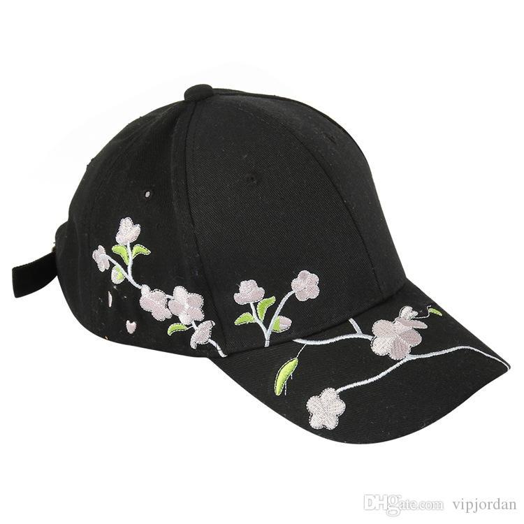 2019 Yüzlerce Gül Snapback Kapakları Özel Özelleştirilmiş Tasarım Markaları Cap Erkekler Kadınlar Ayarlanabilir Golf Beyzbol Şapka Casquette Şapkalar