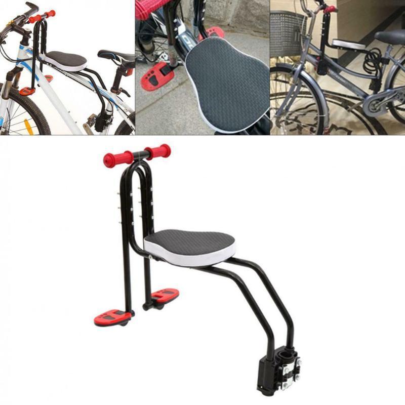 Bike Saddles Vélo Pliable Siège enfant Enfants Selle avant Montage Front Enfants Safety Carrier Accessoires # 5