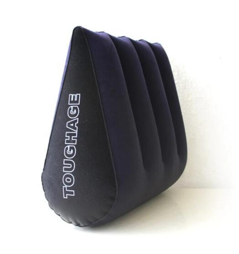 TOUGHAGE 섹스 쿠션 커플을위한 풍선 섹스 가구 삼각형 에로틱 쐐기 베개 소파 성인 게임 섹스 토이