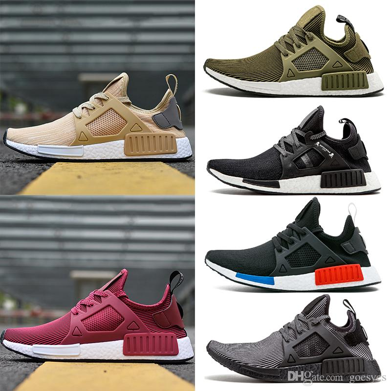 the latest 56d39 46149 New Yellow Rose Red NMD XR1 Zapatos Para Correr Vino Mastermind Japón Verde  Oliva Camo OG Classic Para Hombre Mujer Deporte Sneskers Designer Shoes 36  45 ...