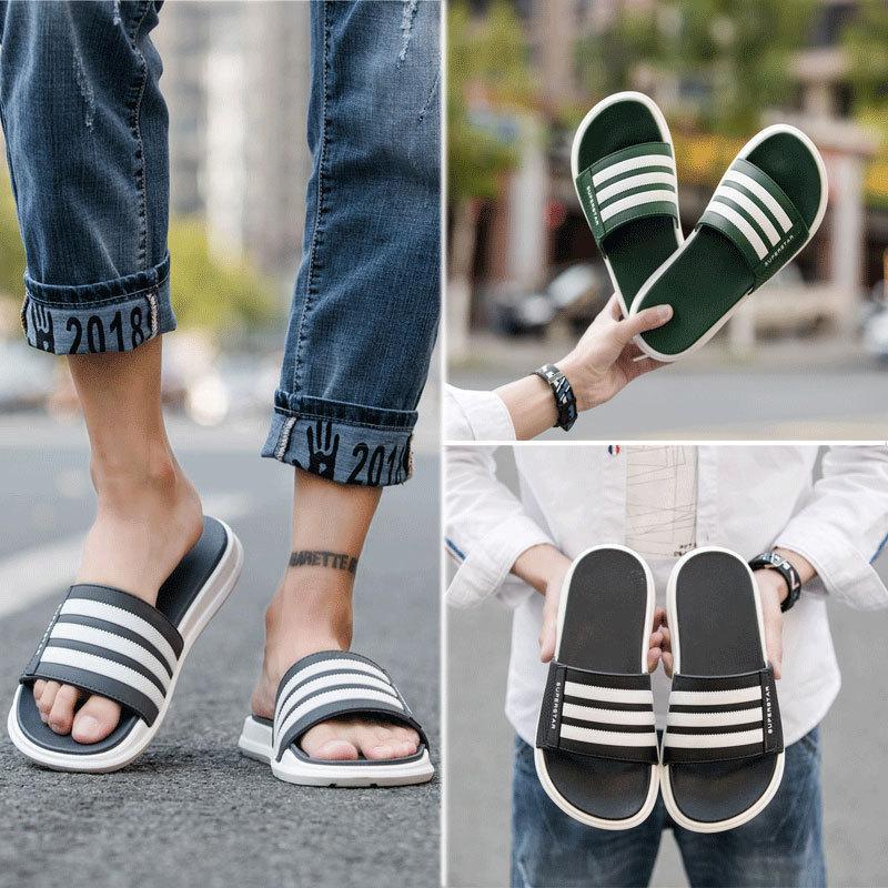 sandalias de diapositivas de moda zapatillas para hombres mujeres con la flor de la caja original caliente diseñador imprimen tirón de la playa unisex fracasos FY9014 zapatilla