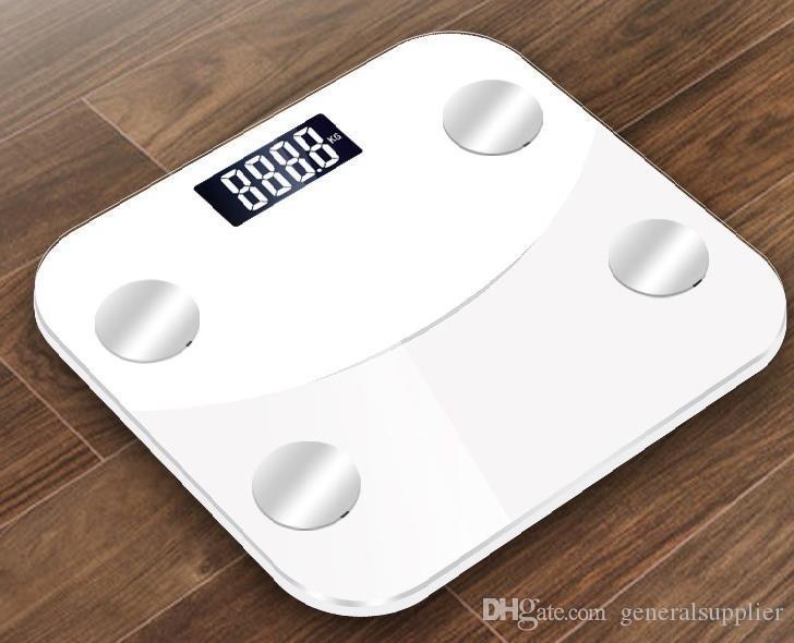 По Bluetooth жира шкала интеллектуальный беспроводной ИМТ ванная комната маштаб веса тела состав монитор анализатор здоровья с Приложение для смартфонов для тела