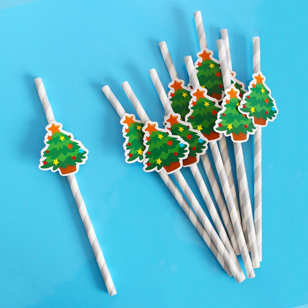 Yılbaşı Ağacı Kağıt Payet Ana Tablo Süsler Mutlu yeni yıl için 2019 Merry Christmas Süsleri 2020 Noel arifesi Parti Dekoru