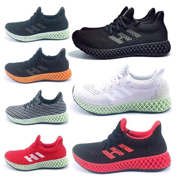 2020 Tasarımcı moda lüks ayakkabılar erkekler Futurecraft 4D kadın Dalga Runner Eğitim En kaliteli SneakersFU6P # CHAUSSURES mens çalışan
