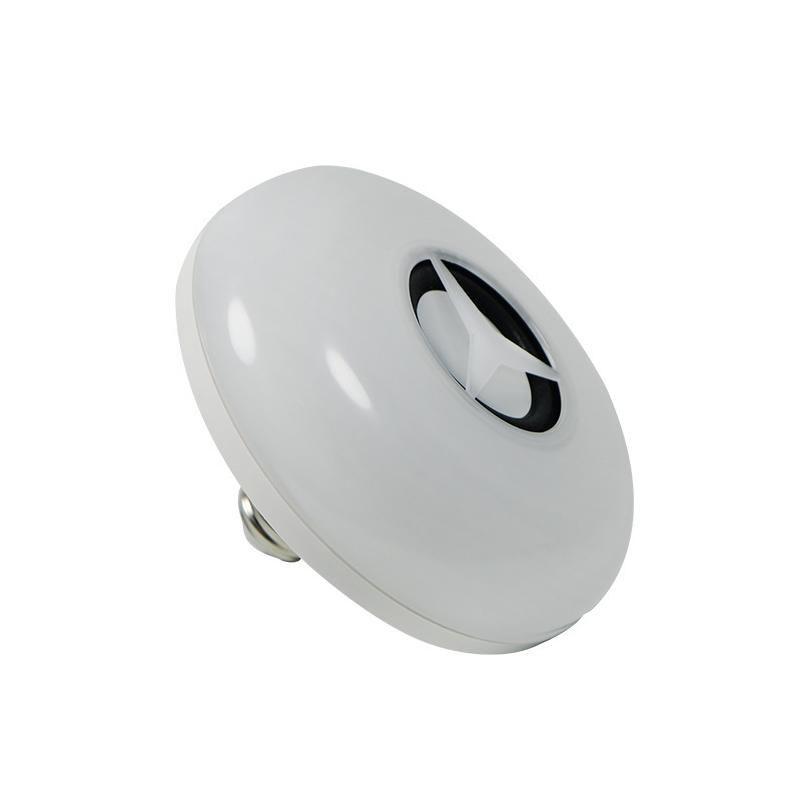 블루투스 음악 램프 전구 10048 변경 지능형 다채로운 UFO 램프 다기능 리모콘 RGB 색 LED