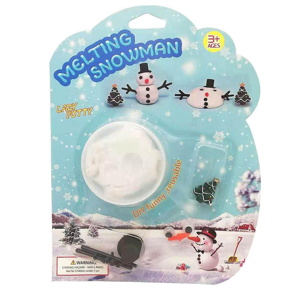 Funny Kids Toys Magic Melting Snowman DIY Snowman Build It To Watch It Melt Slime New toys for children Gift funny gifts