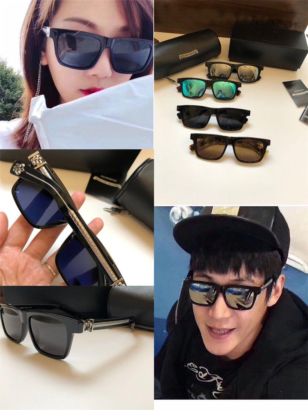 Новые популярные ретро мужские солнцезащитные очки, ORALOVER панк-стиль дизайнер ретро квадратную рамку с кожаным покрытием коробка анти-UV400 BOXLUNCH