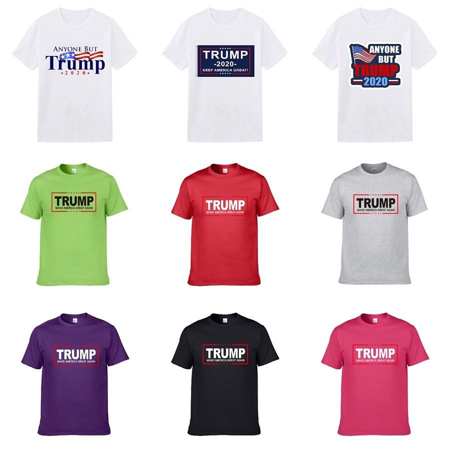 2020 uomini di lusso Trump T-shirt novità casuale di modo del progettista camice Trump T per gli uomini T-shirt sportiva Boy T Shirt Mens Short Sleeve Tee Top
