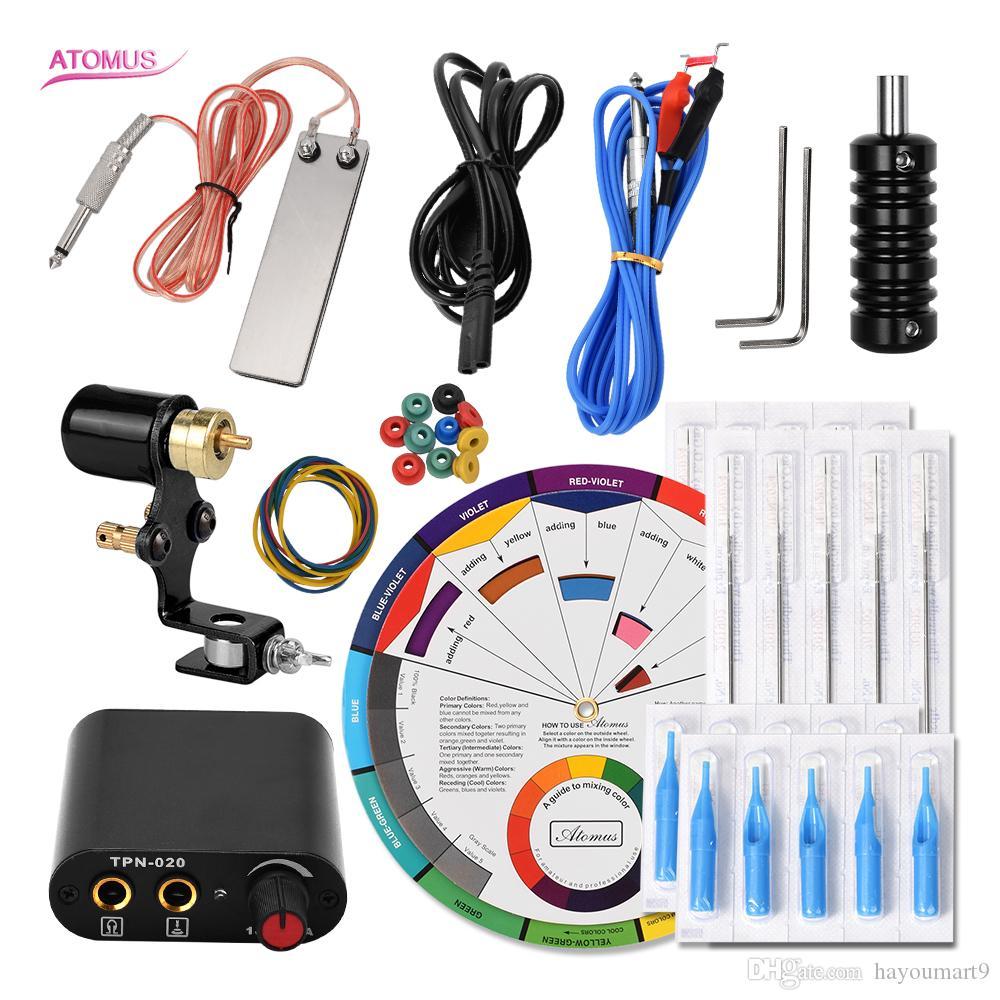 Set completo di macchine Tattoo Machine Liner professionale per penna Kit completo Pro Machine Shader Liner Starter Motor Consummate Kit