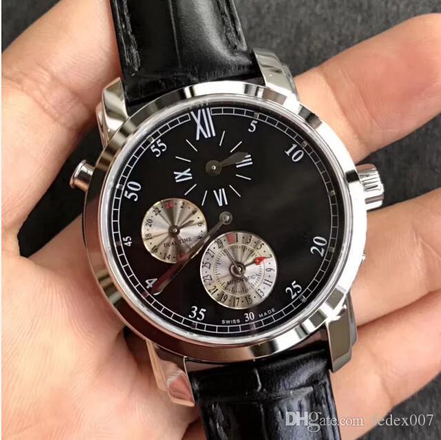 2020 새로운 K11 공장 42,005 그리니치 표준시의 39mm의 V-c.1206 자동차 9015 운동 남자 사파이어 크리스탈 비즈니스 시계를보고