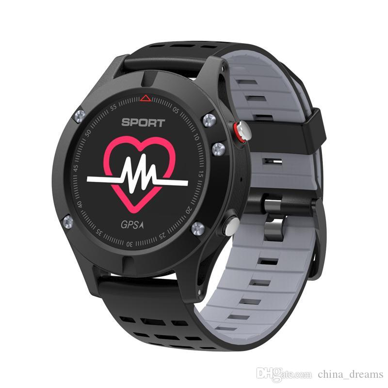 NO.1 F5 Smart Watch IP67 Waterproof Heart Rate Monitor GPS Multi-Sport Mode OLED Altimeter Bluetooth Fitness Tracker Android iOS