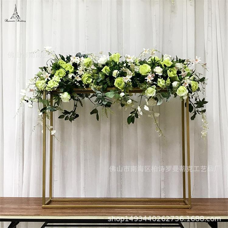 39 дюймов высокий золотой цвет металла цветочный стенд для свадьбы цветочные композиции таблицы Центральным современный декор
