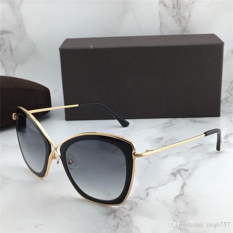 Yeni moda tasarımcısı koruma gözlük UV 400 lens satan en kaliteli popüler stili ile 0605 kedi gözü çerçevesini güneş gözlüğü