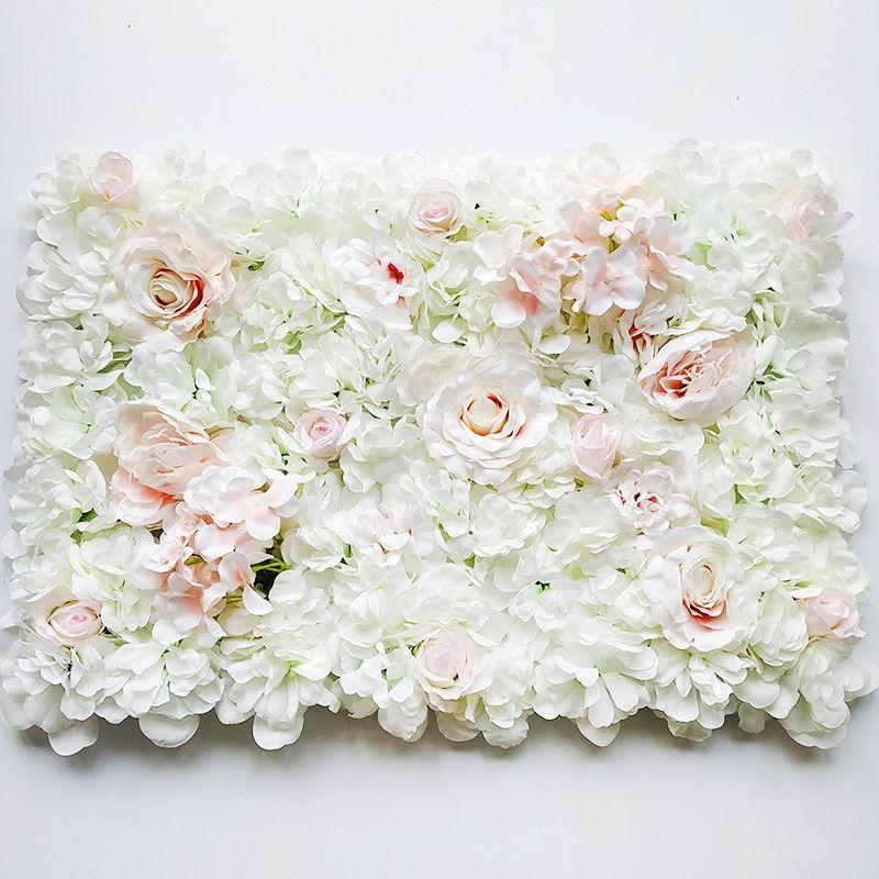 Düğün Arka Plan Arch Pavilion Köşeler dekor çiçek İçin Çiçek Başkanı Mat İpek Gül Floral Asma Yapay Gül Çiçek Duvar
