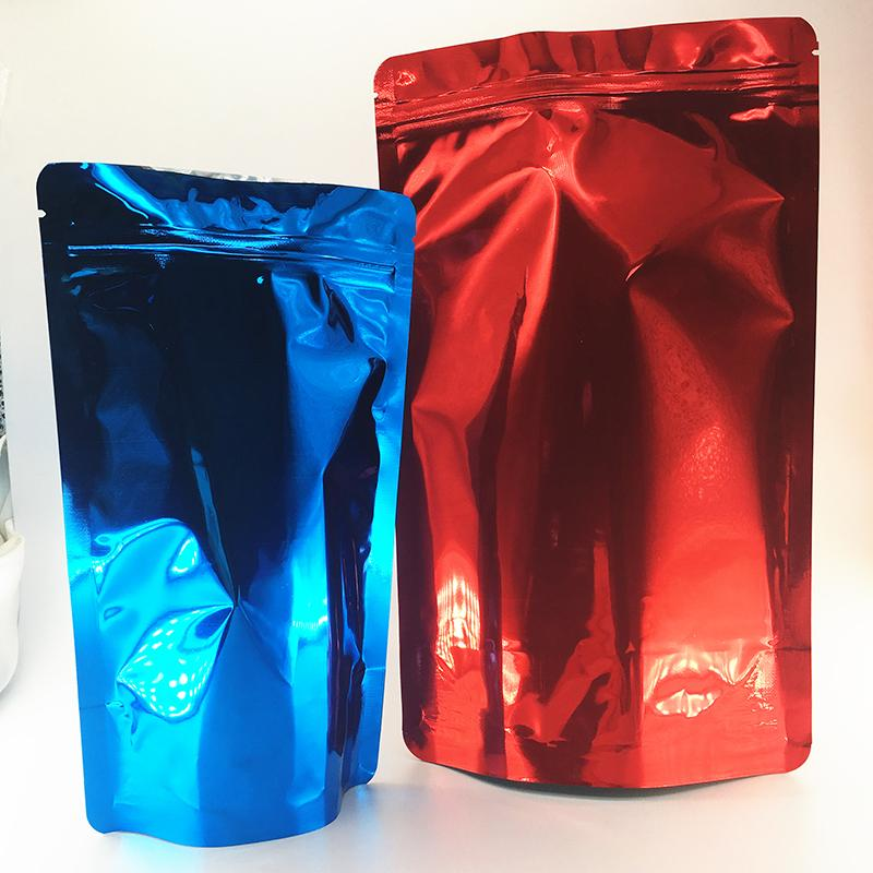 OEM Zip Lock Bags with Heat Seal Customize Stand Up Pounch Custom Printed Mylar Smell Proof Bag Different Size