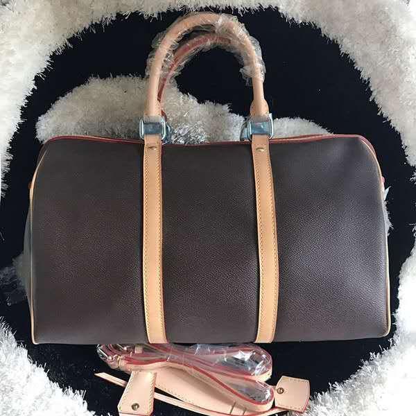 Оптовая 45 см Большая сумка из окислительной кожи мода известная дорожная сумка роскошные сумки пресбиопической Бостон сумка