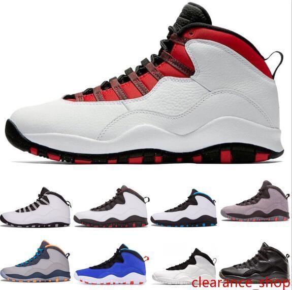 Avec Tinker 10 hommes CLASSE 2006 Fumée Gris Clair / Noir Chaussures de basket Je suis de retour de Chicago Powder Blue Cool Gray Chaussures de sport en acier