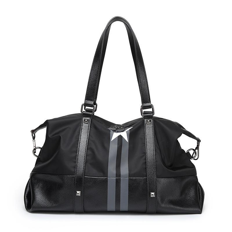2019 مصمم حقيبة سفر البنتاغون نايلون أكسفورد للماء حقيبة يد عالية السعة واحدة الكتف مطفيل الرجال والنساء مصمم أكياس القماش الخشن